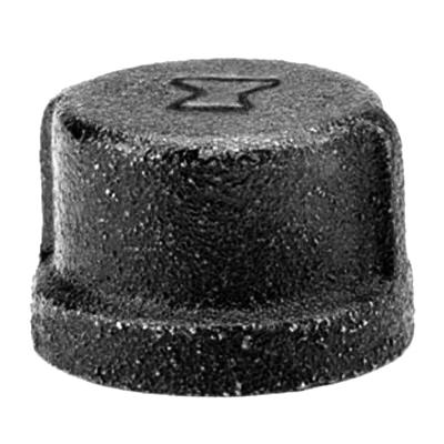"""1"""" BLK Pipe Cap"""
