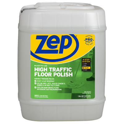 5GAL Zep Floor Finish - Woods Hardware