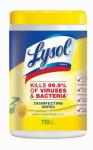110CT Lysol Citrus Wipe