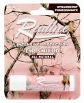 3B INTERNATIONAL LLC RTLBW001 Realtree, All Natural Strawberry Pomegranate Intensive Protection Lip Shield, Flavored