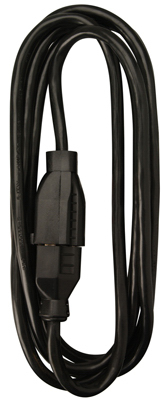 ME 15' 16/2BLK EXT Cord - Woods Hardware