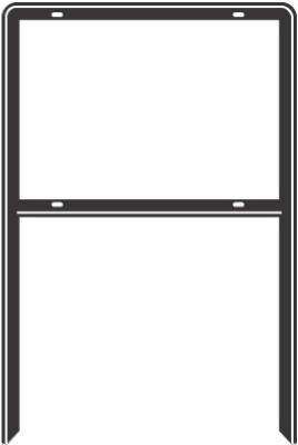 24-1/2x41 HD Sign Frame