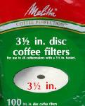 100PK Disc CoffeeFilter