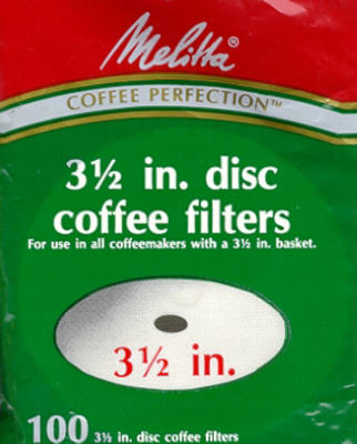 100PK Disc CoffeeFilter