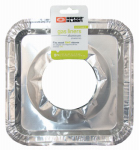 RANGE KLEEN R201F8 8 Count, Gas Stove Foil Burner Bib Liners, Fits Most
