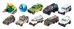 MATTEL INC FMW90 1.64 Scale, Matchbox Jurassic World Vehicle, Includes Castings From Every