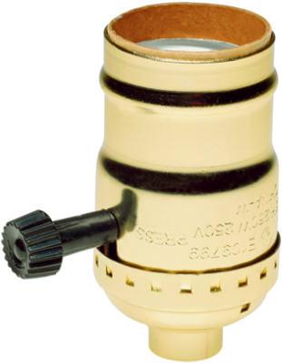 250V 3WY MTL Lampholder