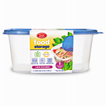DELTA BRANDS & PRODUCTS LLC 11341-12 Home Select, 7.3 Cup, Large, Rectangle, Food Storage Container, 1