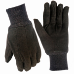 BIG TIME PRODUCTS LLC 9127-26 True Grip, Small, Men's, Brown, Cotton Jersey Glove, Soft &