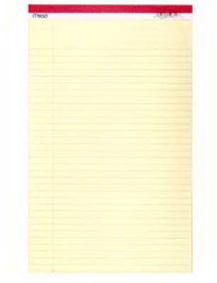 50CT8-1/2x14 Legal Pad - Woods Hardware