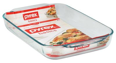 4QT Pyrex Oblong Dish - Woods Hardware