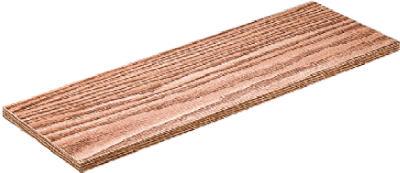 12x36 Oak Shelf