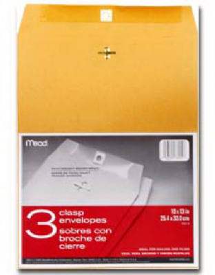 3PK10x13 Clasp Envelope - Woods Hardware