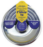 "STANCO METAL PROD 602-8 8"" Chrome Reflector Pan, For Fixed Type Element, Except For"