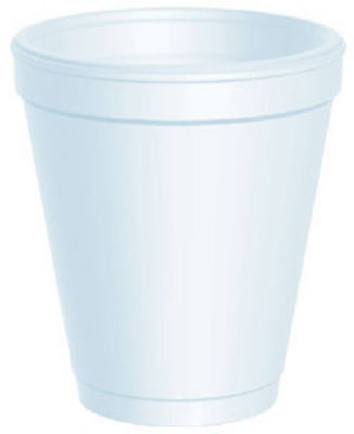 25CT 8OZ Foam Cup
