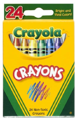 24CT Crayon In Tuck Box - Woods Hardware