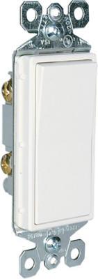 15A WHT GRND SP Switch