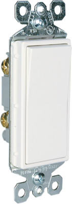 15A WHT GRND SP Switch - Woods Hardware