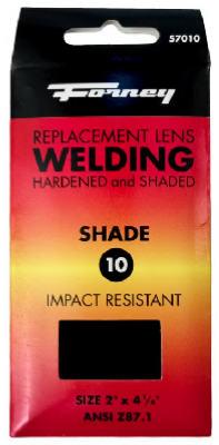 2x4-1/4 #10 Shade Lens