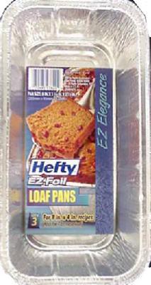 3PK ALU Foil Loaf Pan