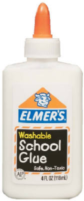 4OZ Wash School Glue - Woods Hardware