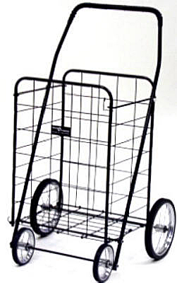 BLK Jumbo Shopping Cart