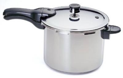 4QT ALU Pres Cooker