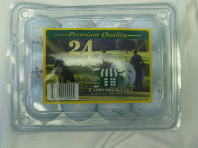 24PK Recondit Golf Ball