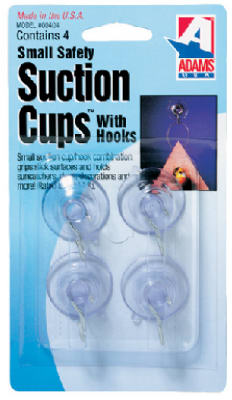4PK SM Suction Cup - Woods Hardware