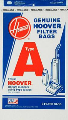 3PK Hoover A Vac Bag
