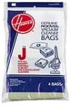 "HOOVER INC/TTI FLOOR CARE 4010010J 3 Pack, Hoover, Style ""J"" Vacuum Cleaner Bag, For Hoover"