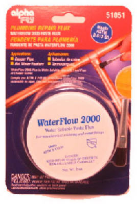 Plumb Solder Flux/Brush