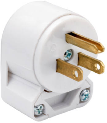 WHT 8Pos 3Wire ANG Plug - Woods Hardware