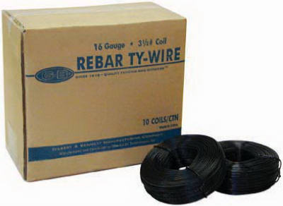 3.5LB 16GA Reb Tie Wire - Woods Hardware