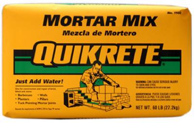 60LB Mortar Mix - Woods Hardware