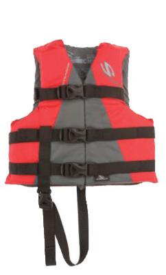 30/50LB RED Boat Vest