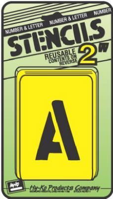 """2""""Numb/Lett Stencil Set"""
