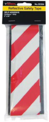 2x24 RED/SLV Refl Tape