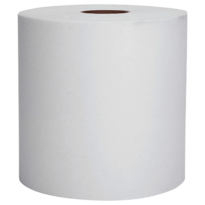 12PKWHT Hard Roll Towel