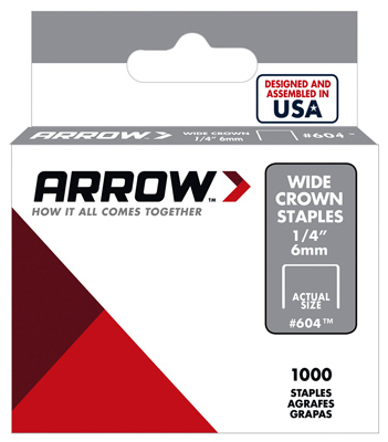 1000PK 1/4 HD Staple