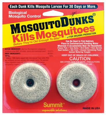 2PK Mosquito Dunk