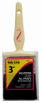 """LINZER/AMERICAN BRUSH 1105-3 1.5"""", Utility Quality Brush, Ivory Handle Brush For Latex Paints"""