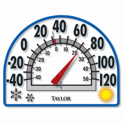 WindowCling Thermometer