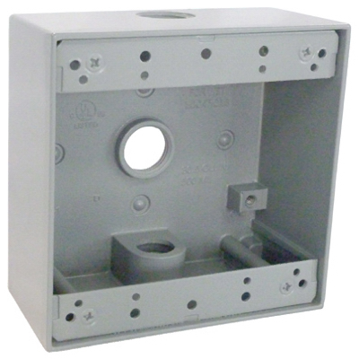 ME GRY WP 2G Out Box - Woods Hardware