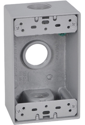 ME GRY WP 1G Out Box - Woods Hardware