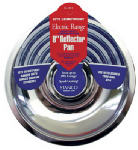 "STANCO METAL PROD 500-8 8"" Chrome Reflector Pan, Fits Most GE & Hotpoint Ranges.<br>Made"
