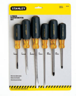 6PC ContractorScrew Set
