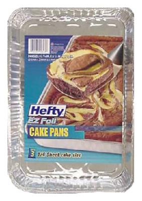 3PK Foil Cake Pan