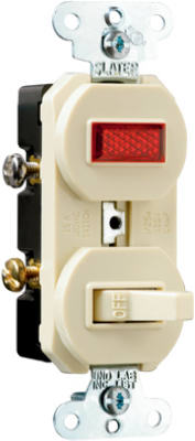 15A IVY PilotLGT/Switch - Woods Hardware