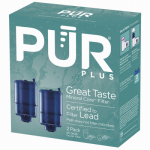 Pur Mineralclear Replacement Water Filter for Faucet-Mount, 3-Stage System, 2-Pk.